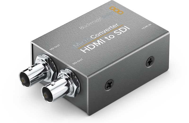 Blackmagic Hdmi To Sdi Convcmic Hs Micro Converter