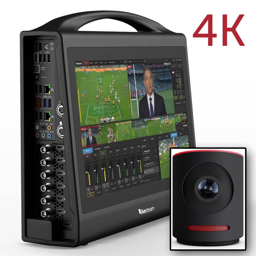 Livestream Studio HD550 4K + Mevo Camera - Portable All-in ...