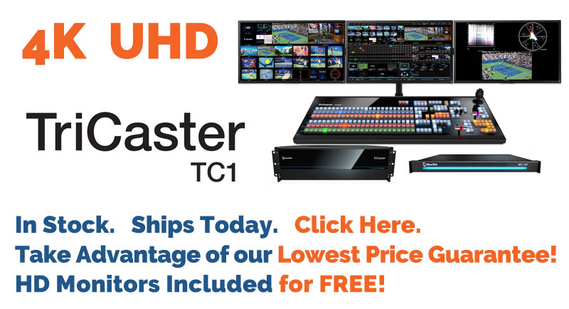 TriCaster TC1 In Stock - Ships Today!