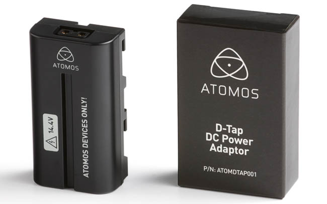 Atomos D-Tap DC Power Adapter - ATOMDTP001