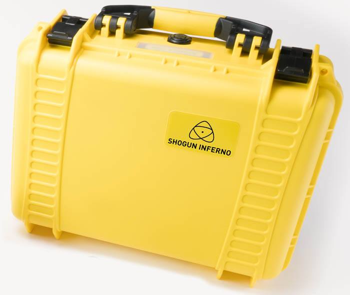 Atomos Shogun Yellow Hard Carry case - ATOMCAS007