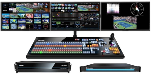 TriCaster TC1 Deluxe Bundle - TC1 2RU, NC1 I/O and TC1LP Control Panel
