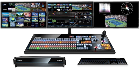 TriCaster TC1 Select Bundle - TC1 and TC1LP Control Panel