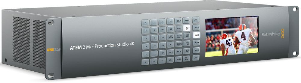 Blackmagic Design ATEM 2 M/E Production Studio 4K - SWATEMPSW2ME4K