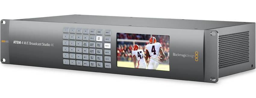 Blackmagic Design - Cameras, converters, ATEM switchers, video