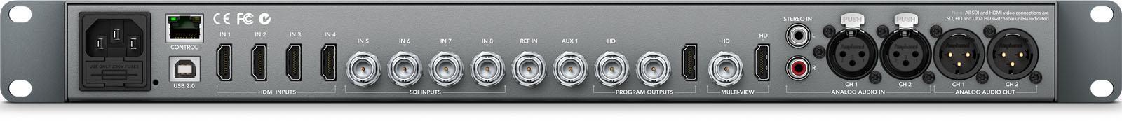 Blackmagic Atem Production Studio 4k Switcher Swatempsw04k Bmd