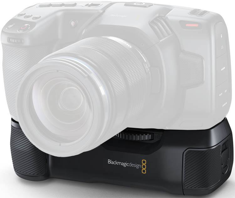 Blackmagic Pocket Camera Battery Grip - BMD-CINECAMPOCHDXBT