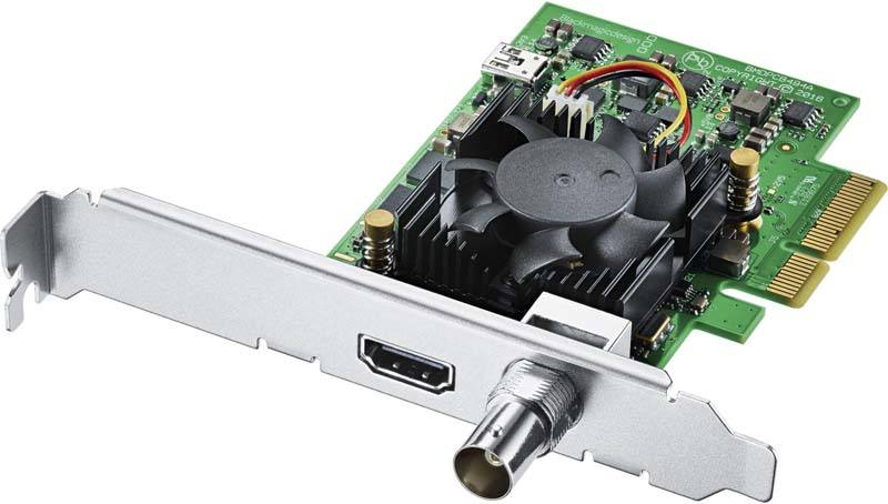 Blackmagic Design DeckLink Mini Monitor 4K PCIe - BMD-BDLKMINIMON4K