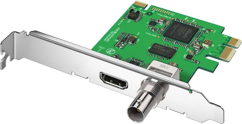 Blackmagic Design DeckLink Mini Monitor PCIe - BMD-BDLKMINIMON