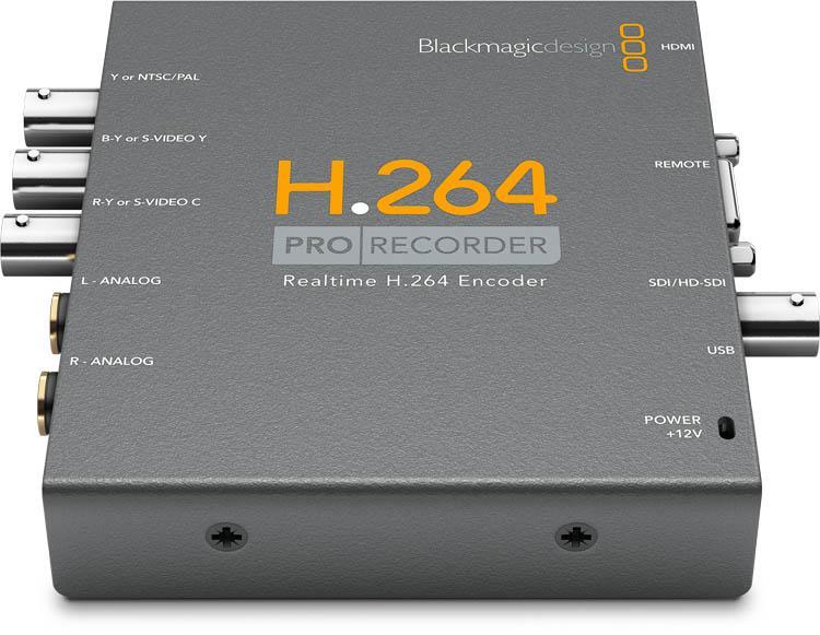 Blackmagic H264 Pro Recorder Vidprorec H 264 Bmd