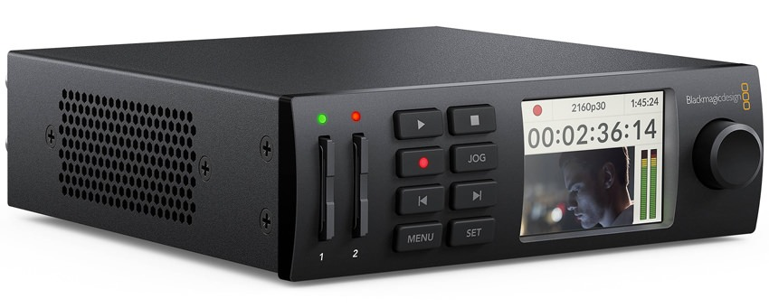 Blackmagic Design HyperDeck Studio Mini - HYPERD-STM