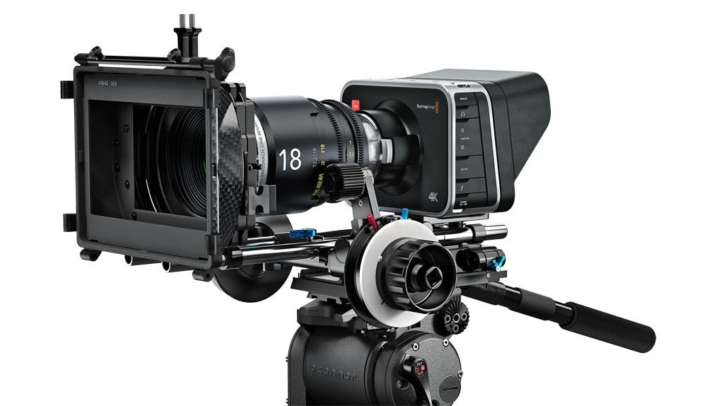 Blackmagic Production Camera 4K - CINECAMPROD4KEF - BMD