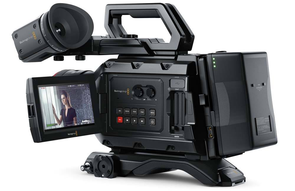 Blackmagic URSA Mini 4.6K PL Camera Blackmagic URSA Mini 4.6K PL, CINEURSAM46K/PL, Camera