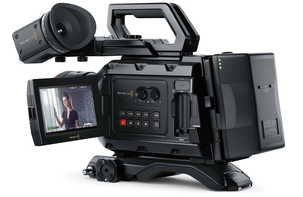 Blackmagic URSA Mini 4K EF Camera Blackmagic URSA Mini 4K EF, CINEURSAM40K/EF, Camera