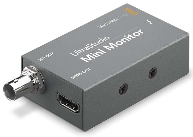 Blackmagic Design UltraStudio Mini Monitor - BDLKULSDZMINMON