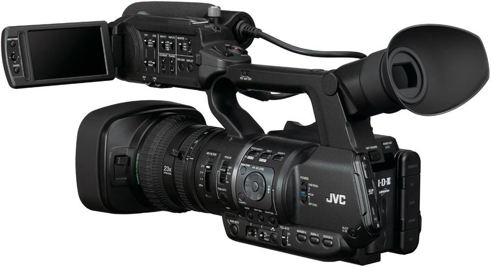 GY-HM600U ProHD Handheld Camcorder