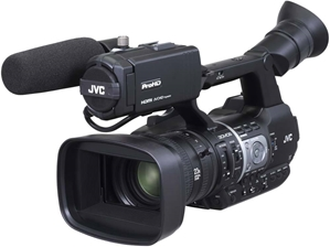 GY-HM620U ProHD Handheld Camcorder - Front