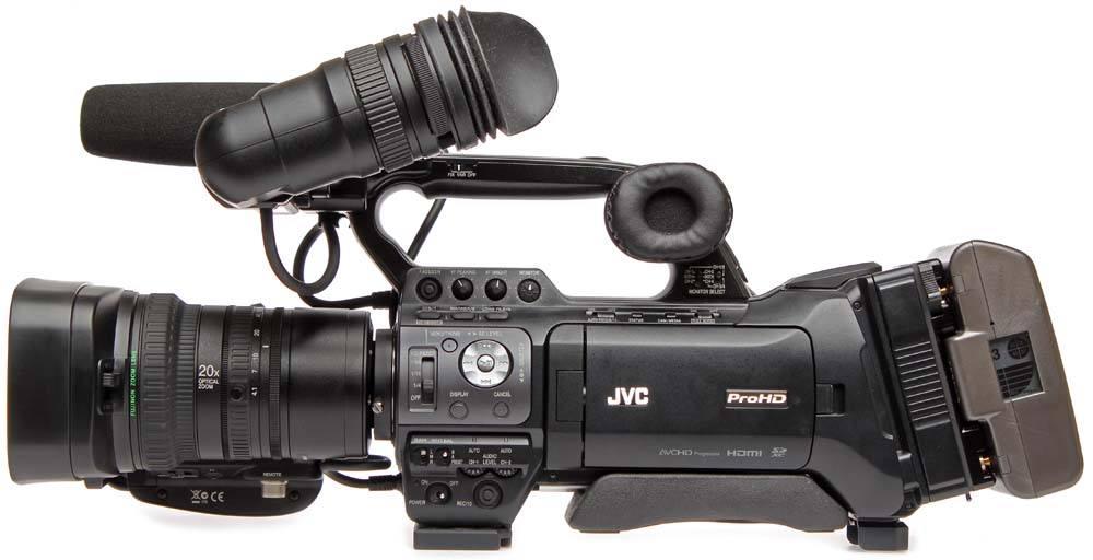 JVC GY-HM850U - ProHD Shoulder...
