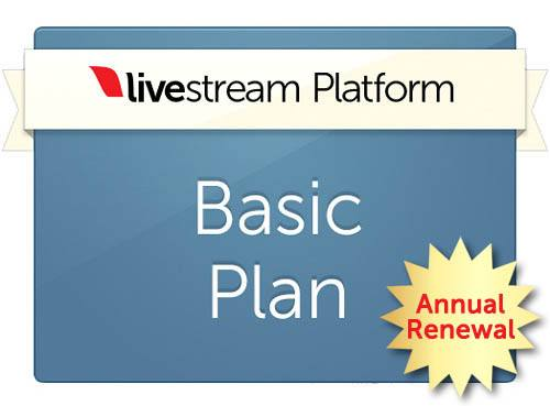 Livestream Platform Basic - Discounted Renewal