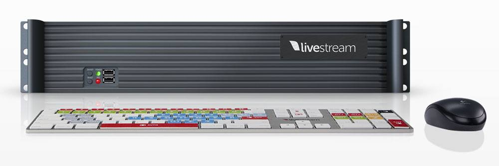 Livestream Studio HD31 - front with Studio Keyboard