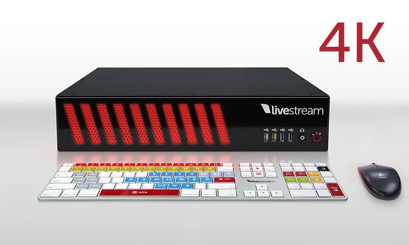 Livestream Studio HD51 4K - front with Studio Keyboard