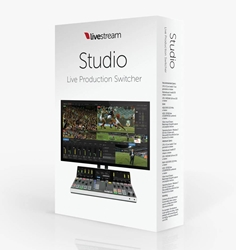 Livestream Studio Software - product box
