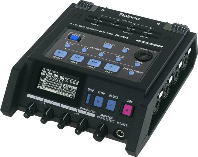 Roland Edirol R-44E Compact Four-Channel Portable Recorder