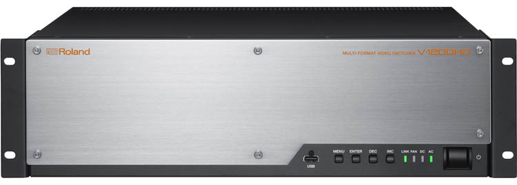 Roland V-1200HD - Multi-Format Video Switcher