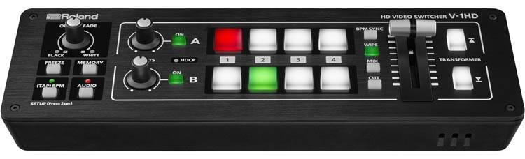 Roland V-1HD - HDMI Video Switcher