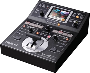 Roland V-4EX - 4-Channel Video Mixer - angle