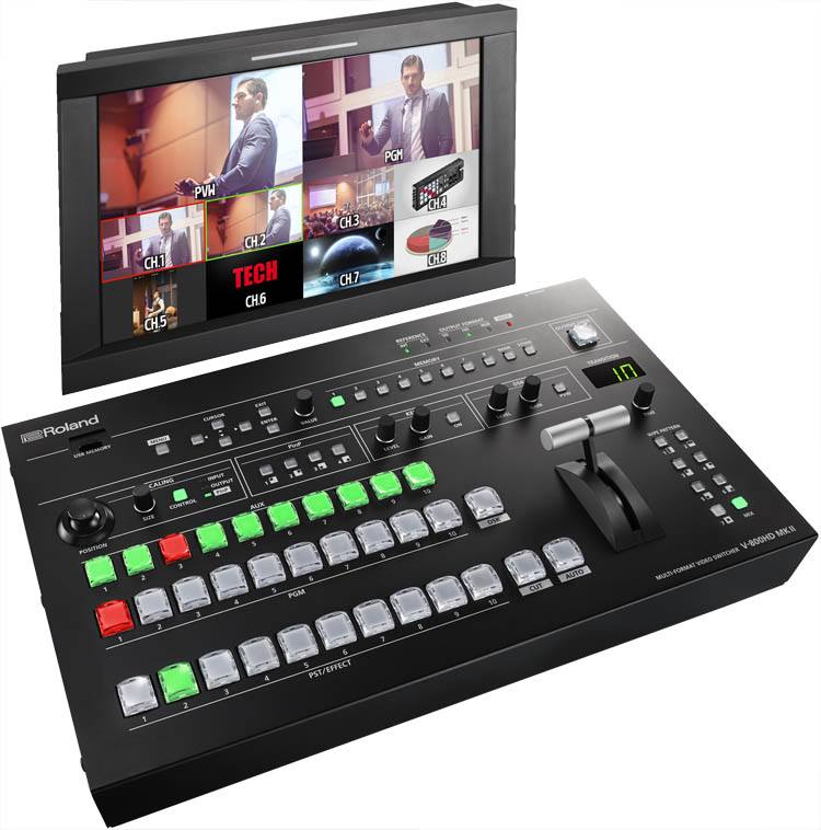 Roland V-800HDmkII Multi-format Video Switcher