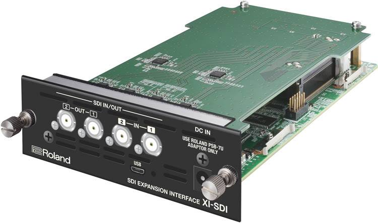 Roland XI-SDI - SDI Expansion Interface - angle