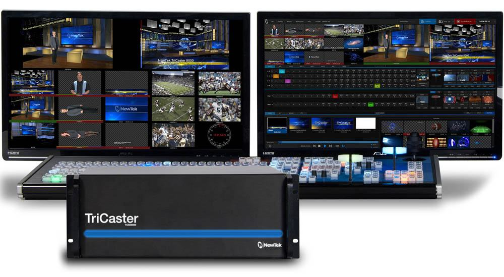 TriCaster 8000 + 8000CS Control Surface Promo