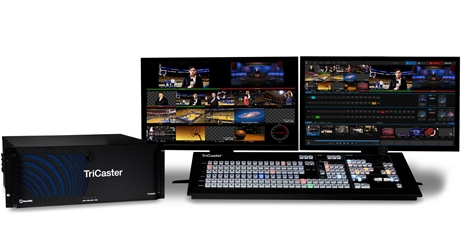 TriCaster 860 + 860CS Control Surface