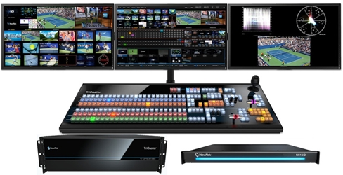 TriCaster TC1 Max Bundle - TC1 R3, NC1 I/O and TC1LP Control Panel