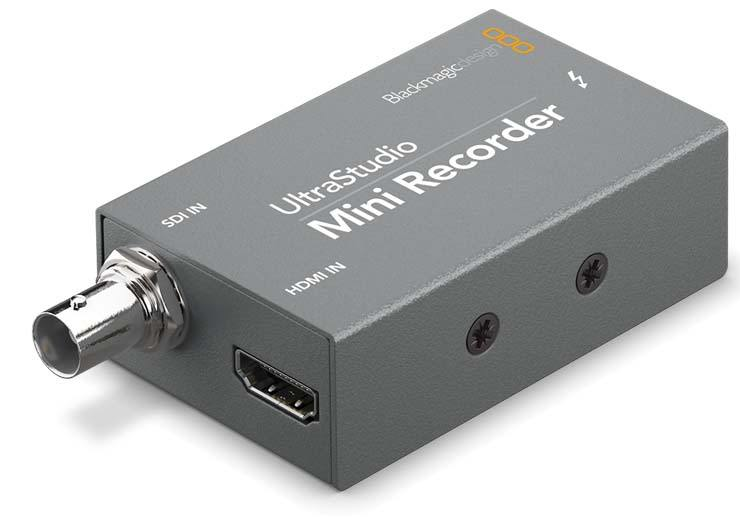 Blackmagic Design UltraStudio Mini Recorder - BDLKULSDZMINREC