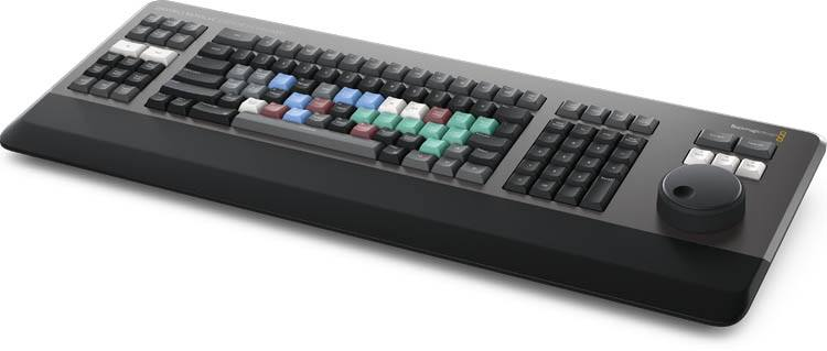 Blackmagic DaVinci Resolve Editor Keyboard - DV/RES/BBPNLMLEKB