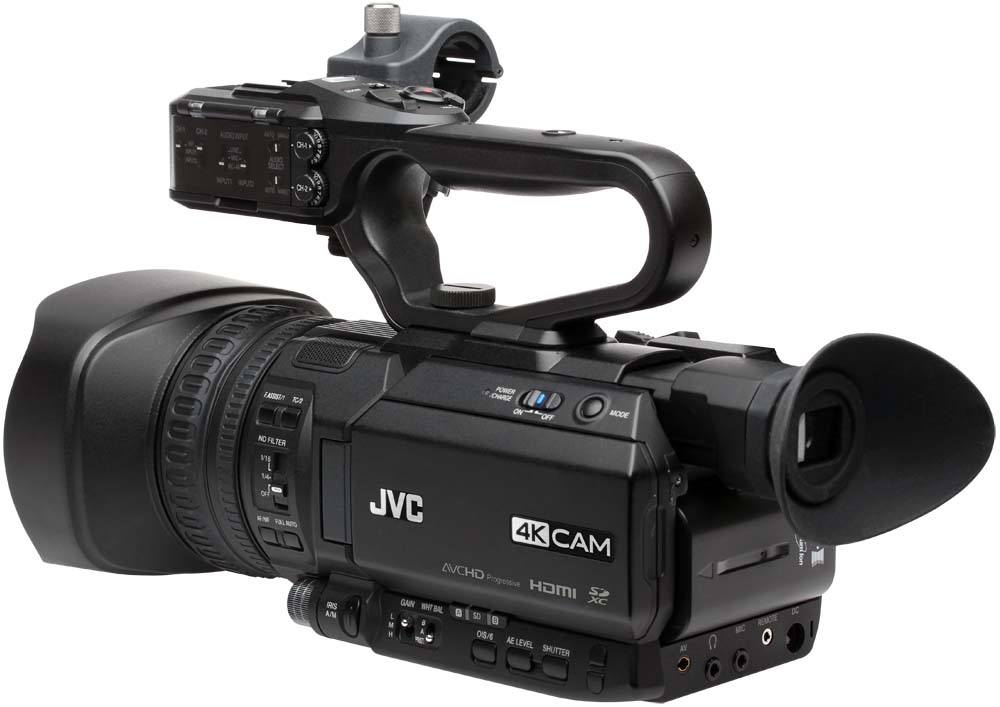 GY-HM200SP Sports Production Streaming Camcorder - Angle Rear