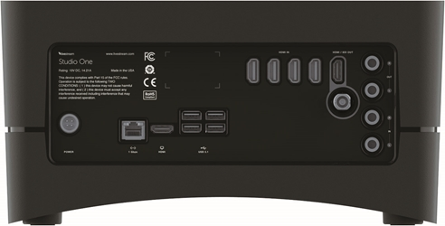 Livestream Studio One 4x HDMI - connections